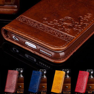 For Samsung Galaxy Note 8 S8+ Luxury Leather Wallet Card Flip Stand Case Cover