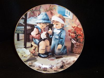 "Hummel 'Tender Loving Care' 8"" collector plate"