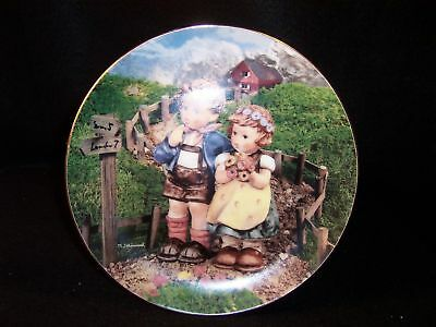 "Hummel 'Country Crossroads' 8"" collector plate"