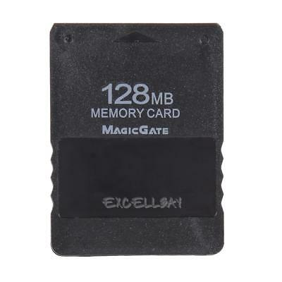 128MB 128M Memory Card Save Game Data Stick for Sony Playstation 2 PS2 E0Xc