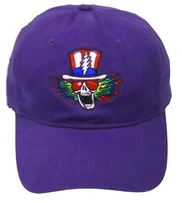Hats New Authentic Grateful Dead Psycle Sam Embroidered Ball Cap