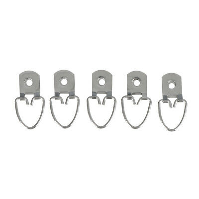 20pcs Triangle D Ring Strap Hanger Medium For Picture Frame Hanging Fastener