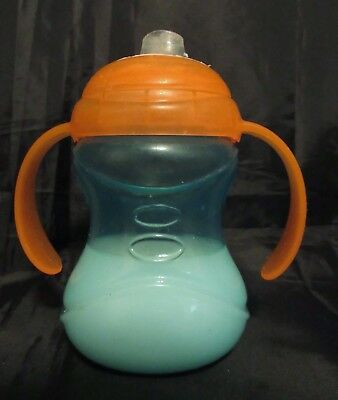 Reborn Toddler doll baby faux NUBY Milk orange and blue sippy cup Photo prop