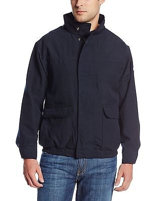 Bulwark Flame Resistant 7oz Twill Cotton/Nylon ComforTouch Lined Bomber Jacket