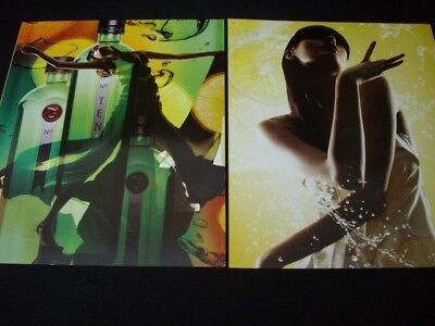TANQUERAY vodka/gin magazine ads lot **