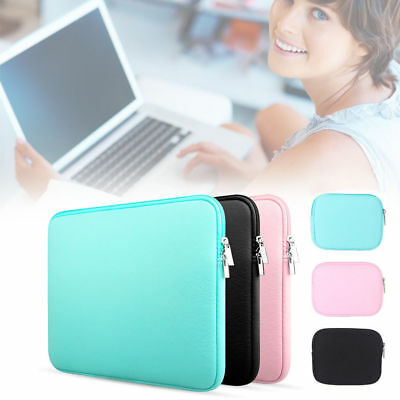 """Soft Cover For 11''13''15"""" Macbook Pro Notebook Laptop Case Bag Sleeve Pouch U"""