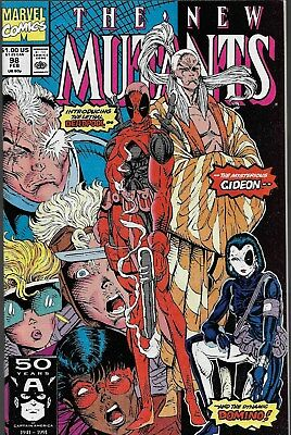 The New Mutants (Vol.1) No.1-100 & 9 Specials / 1983-91 1st Deadpool 1st Cable
