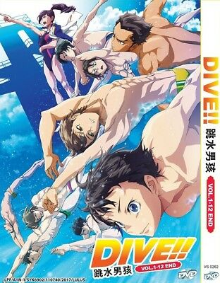 DIVE!! | Episodes 01-12 | English Subs | 1 DVD (VS0262)