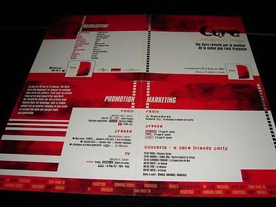 The Cure Imaginary Songs!!!!!!!!!!rare French Press/kit