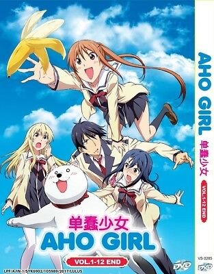 AHO GIRL | Episodes 01-12 | English Subs | 1 DVD (VS0285)