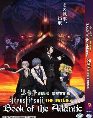 "BLACK BUTLER Movie ""Book Of The Atlantic"" 