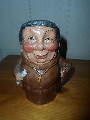 Staffordshire Character Jugs By Manor 'friar' Toby Character Jug