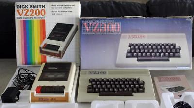 Dick Smith Electronics VZ200 and VZ300 Vintage Personal Computers