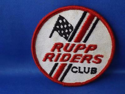 Rupp Riders Club Patch Motorcycle Snowmobile Mini Bike Collector Badge