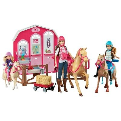 Barbie Pink Passport  Horse and Stable Gift Set
