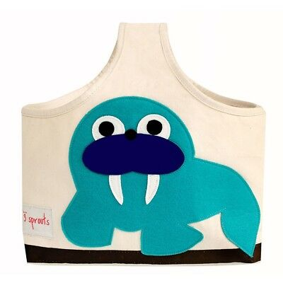 3 Sprouts Storage Caddy Walrus - Blue