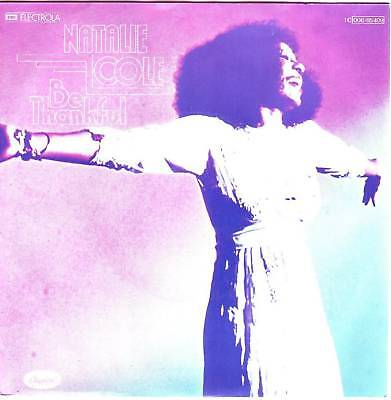 """""""7"""" - NATALIE COLE - Be thankful"""