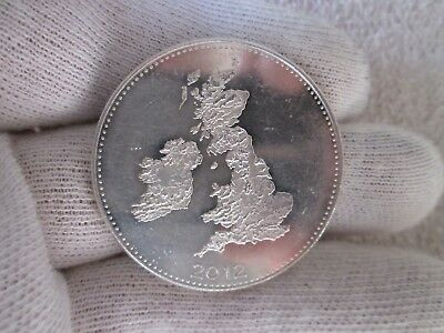 British One Troy Ounce 999 Silver Coin