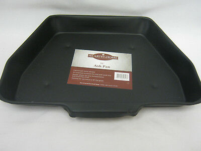 "New Hearth & Home Black Ash Pan Ashpan Coal Fire Grate 16"" HH110 Old Style"