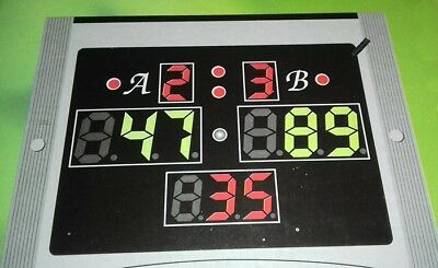 Electronic LED Snooker Scoreboard + Remote control Snooker Billiards Room / Club