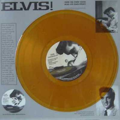 "ELVIS PRESLEY USA ORANGE VINYL 10"" Single Confides in you 	  NEW"