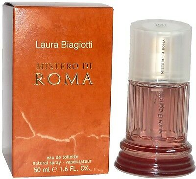 ( 100 ml = 60,00 € ) Laura Biagiotti Mistero di Roma 50 ml Eau de Toilette Spray