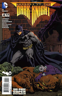 LEGENDS OF THE DARK KNIGHT 100-PAGE SUPER SPECTACULAR 4 VF Batman DC Comics 2014