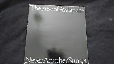THE ROSE OF AVALANCHE - Never Another Sunset - Vinyl LP *Gatefold Cover*