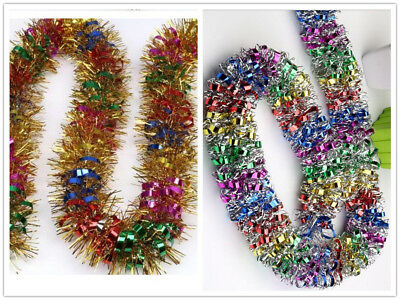 LUXURY Thick Multi-color Tinsel 2Meter Garland CHRISTMAS Tree Decorations G24