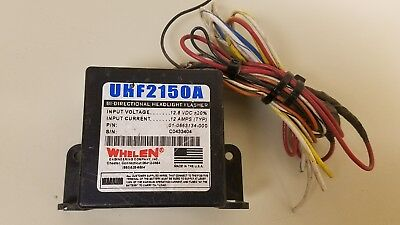 Whelen UHF2150A Bi-Directional Headlight Flasher FREE S&H in USA (Item IN HAND)