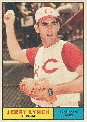 Topps 1961 #97 Jerry Lynch-Cincinnati Reds