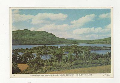 Lough Gill & Church Island Co Sligo Ireland Postcard 458a