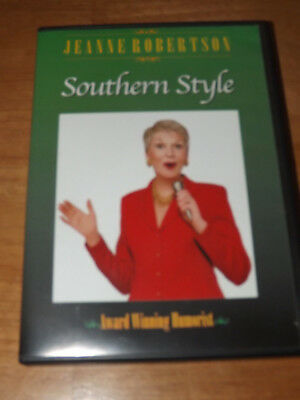 Jeanne Robertson Comedian Humorist Southern Style Dvd Rare