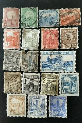 Tunisia 1906-1926 Stamp Collection