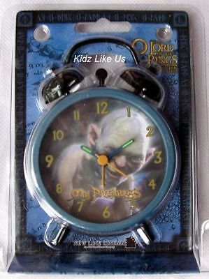 ~ Lord of The Rings ROTK - ALARM ANALOUGE CLOCK CHILD BOYS COLLECTOR