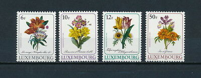 Luxembourg 780-3 MNH, Flowers, 1988