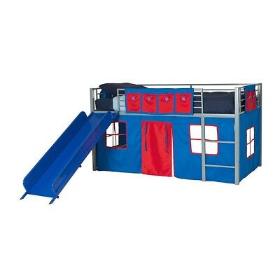 DHP - Curtain Set For Kid's Bed, Blue