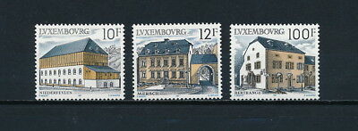 Luxembourg 775-7 MNH,Rural Architecture, 1987