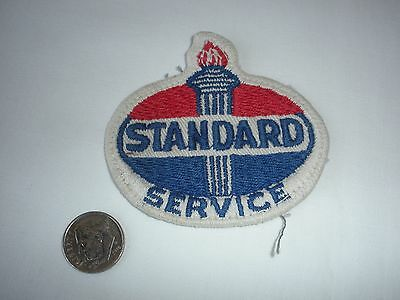 "Vintage Standard Oil Patch, Does Not Appear To Have Stitch Marks 2-3/4"" X 2-5/8"""