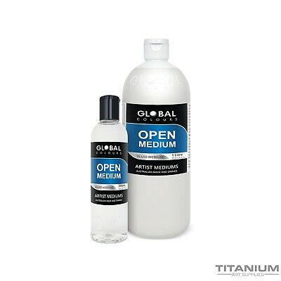 Open Retarder Acrylic Medium 250mL - 1L Professional Grade - Australian Made