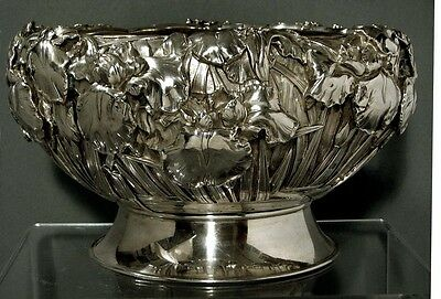 Japanese Sterling Bowl     Signed    *118 OUNCES*         * Was $9500 - $8000 *