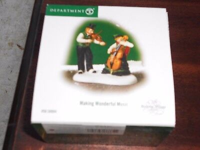 DEPT 56 DICKENS' VILLAGE Accessory MAKING WONDERFUL MUSIC NIB