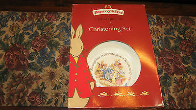 Royal Doulton Bunnykins bone china Christening Set