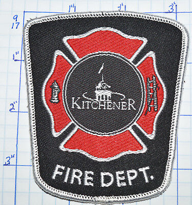 Canada, Kitchener Fire Dept Ontario Patch