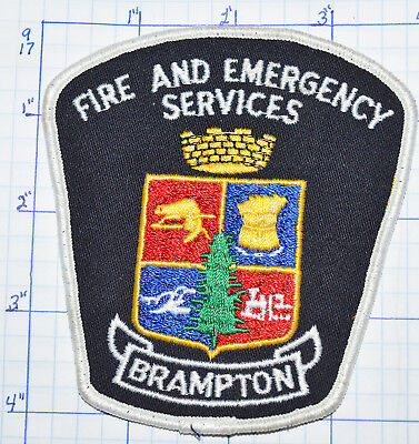 Canada, Brampton Fire & Emergency Services Ontario Patch