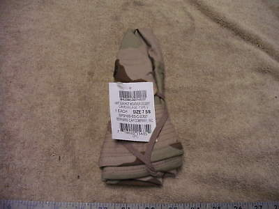 US Military Issue Desert 3- Color Camo Boonie Hat in Size 7 5/8 , New with Tags