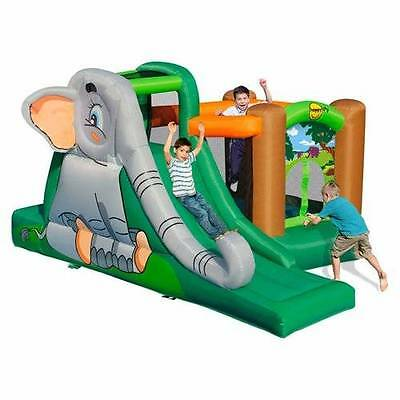 HAPPY HOP Elephants Cave Jumping Castle 9274