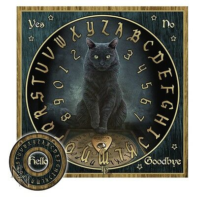 """Lisa Parker Spirit Board """"His Masters Voice"""" Oujia Talking Board NEW Nemesis Now"""