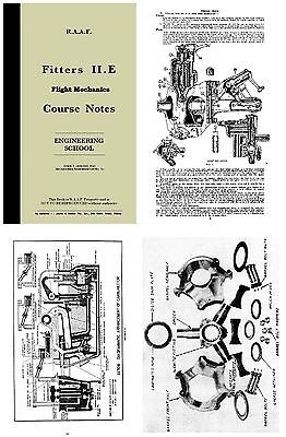 RAAF Flight Mechanics Course Notes 1943 CD Cheetah etc