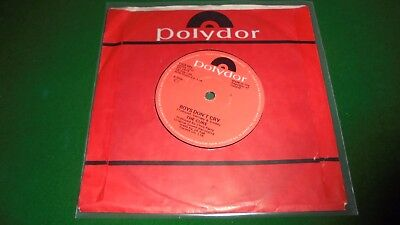 "The Cure - Boys Don't Cry - Made In Ireland Fics002 - 7"" Single Vinyl 1979"